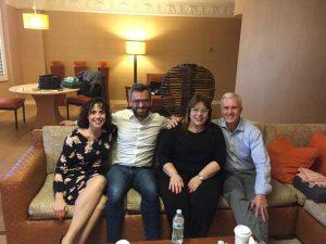 El Profesor Diego López recibe el certificado EyePrintPRO™ 2018-Alhama de Murcia
